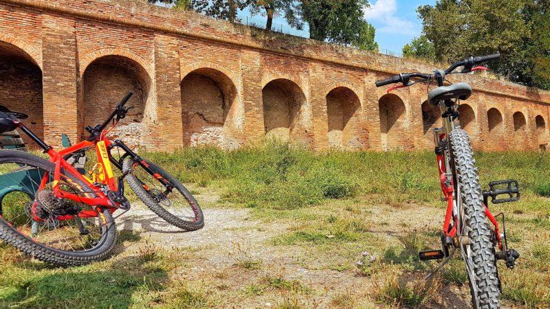 Itinerario #2: Ciclopasseggiata tra Aguscello e le Mura