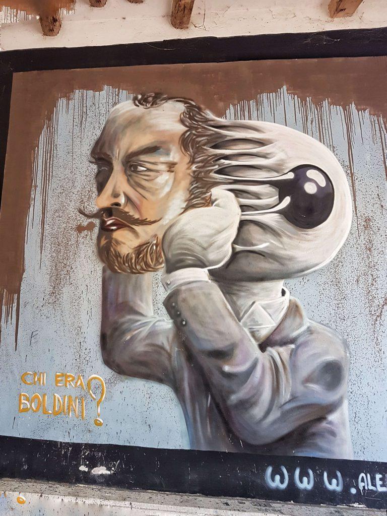 Itinerario #3 - Un percorso nella Street Art a Ferrara street art boldini