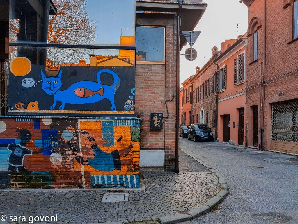 Itinerario #3 - Un percorso nella Street Art a Ferrara murales del mercato coperto ferrara