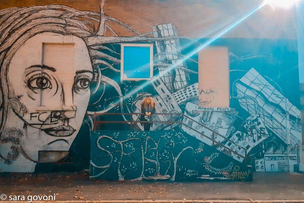 Itinerario #3 - Un percorso nella Street Art a Ferrara murales sfiggy in via dosso dossi