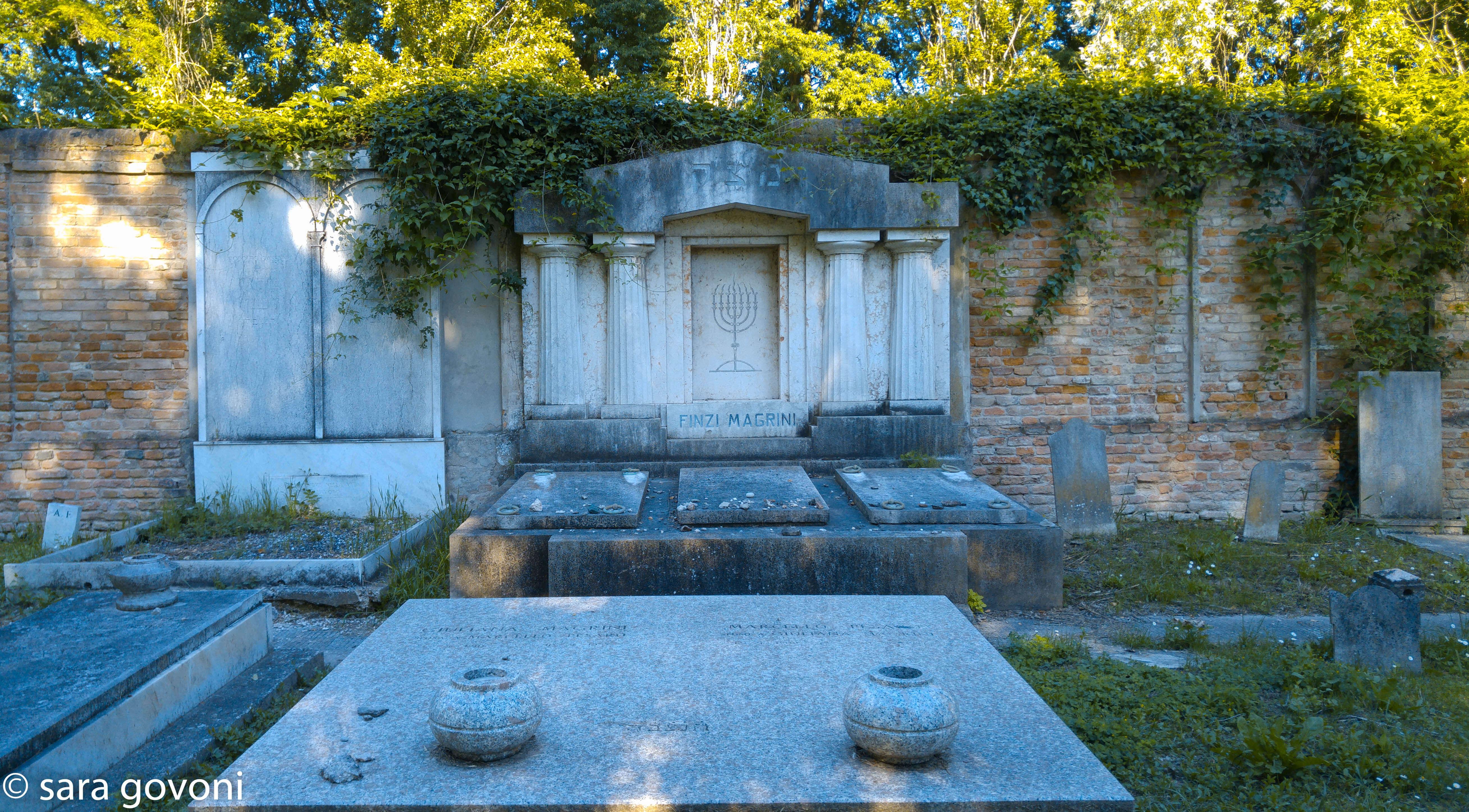 Tombe del cimitero ebraico