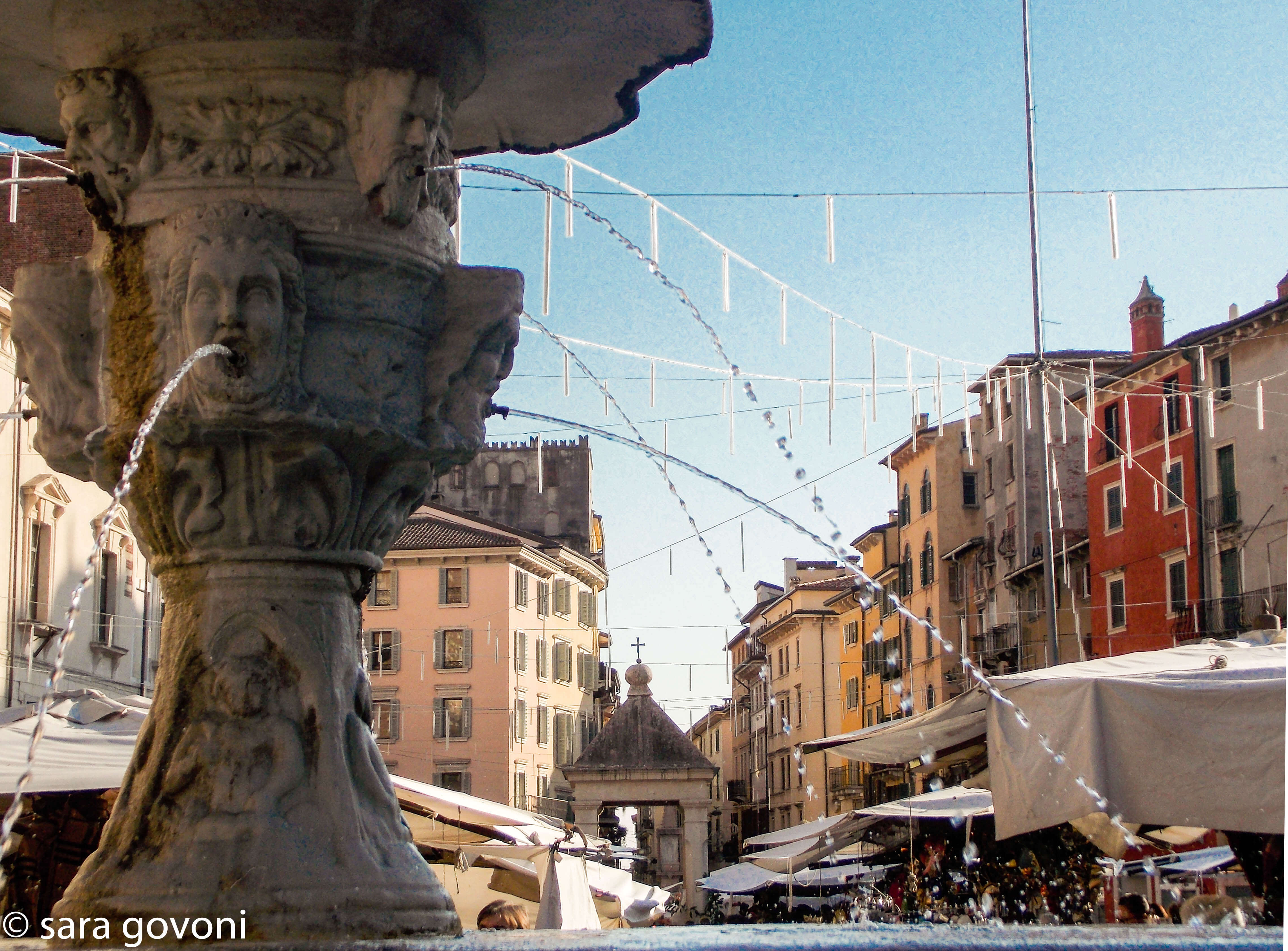 La fontana di Piazza Erbe