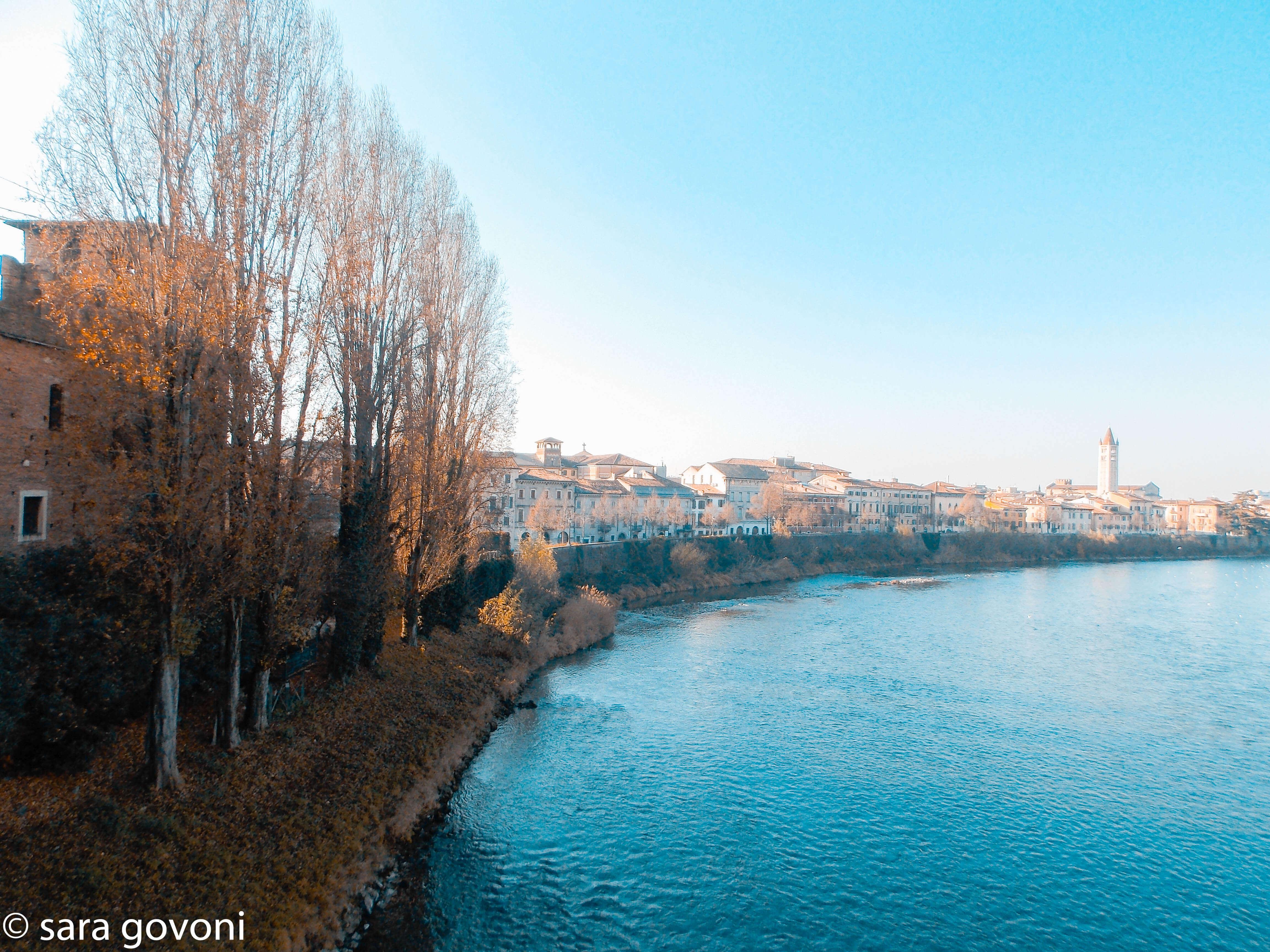 La vista dal ponte di Castelvecchio