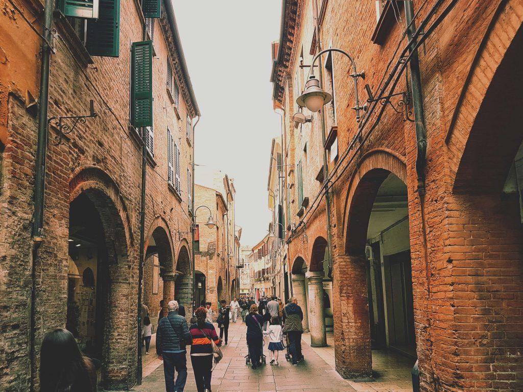 via san romano a Ferrara