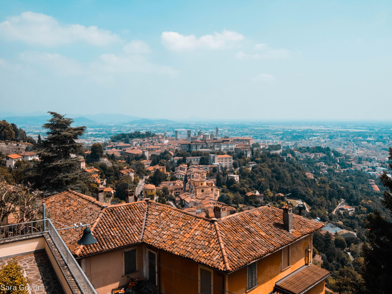 Cosa fare a Bergamo in un giorno: vista dal castello di San Vigilio