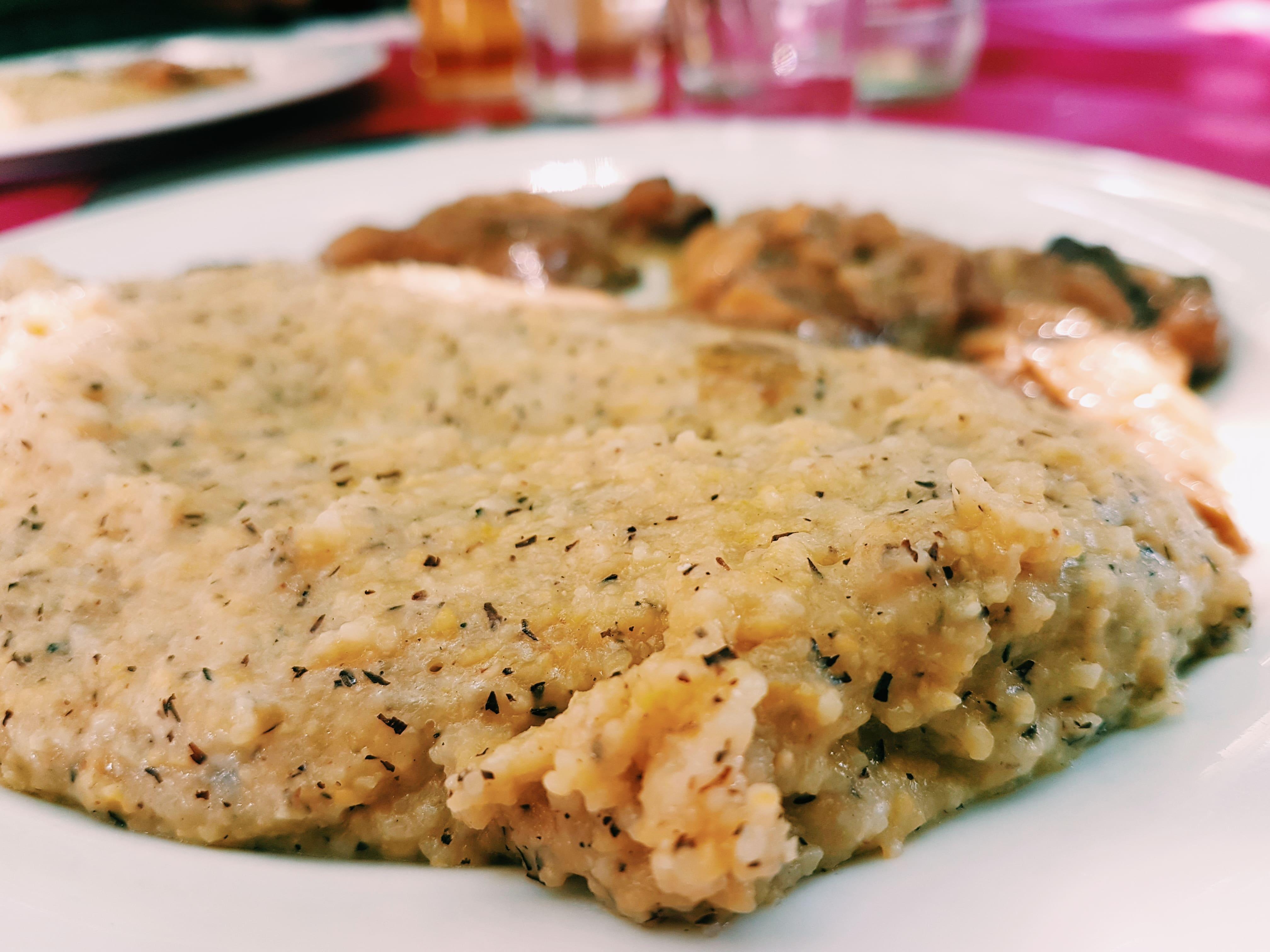 la mitica polenta taragna