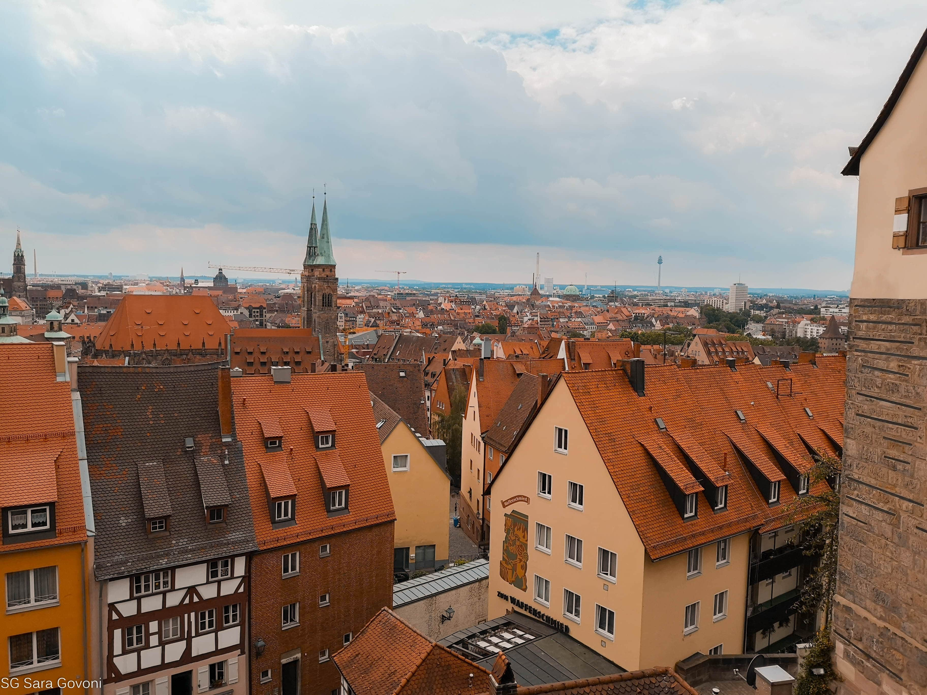 Cosa vedere a Norimberga in un giorno:  La vista dal castello