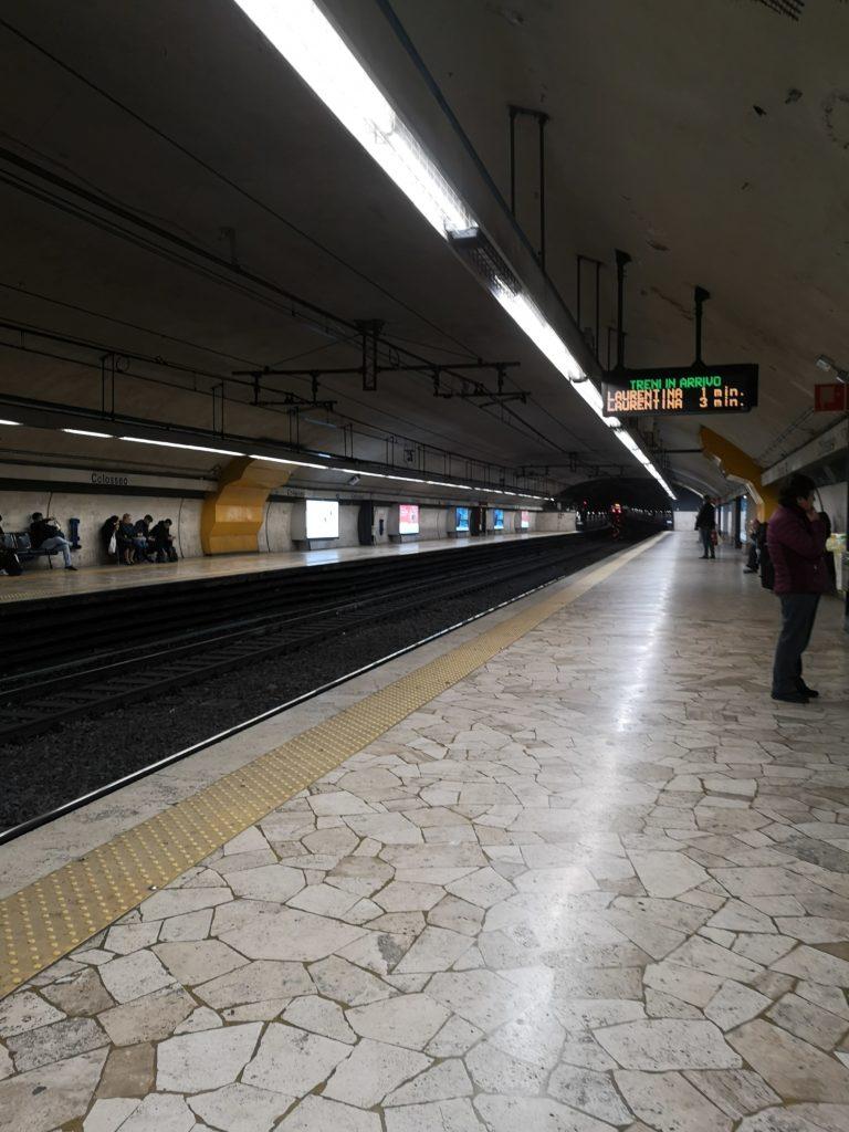 La metro di Roma è sicura