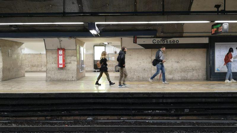 La metro di Roma è sicura?