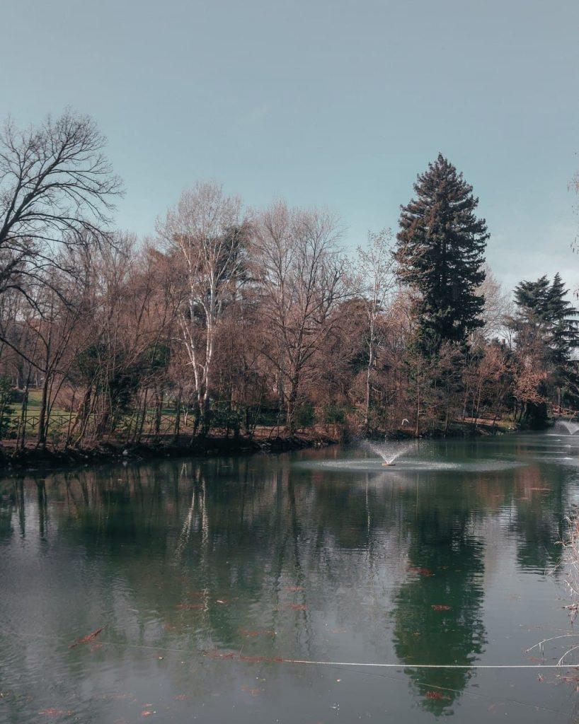 Giardini margherita foliage a Bologna centro