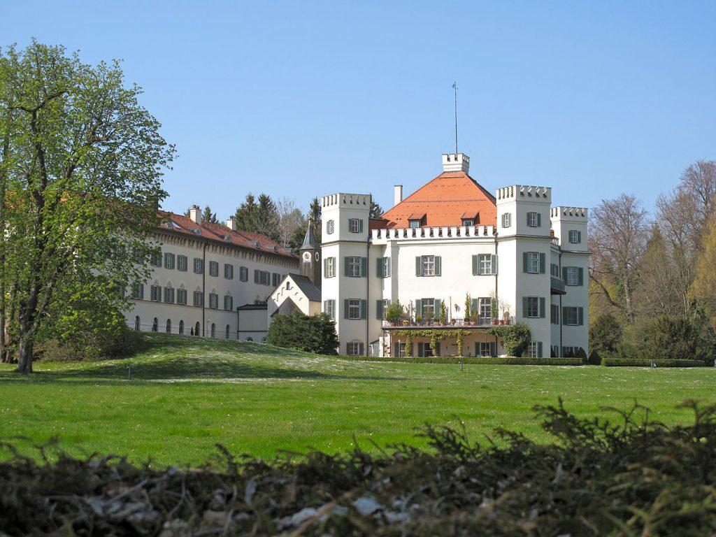 luoghi di Sissi in Baviera: Il castello di Possenhofen