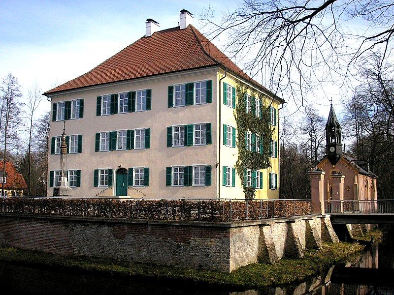 luoghi di Sissi in Baviera: vista del wasserschloss