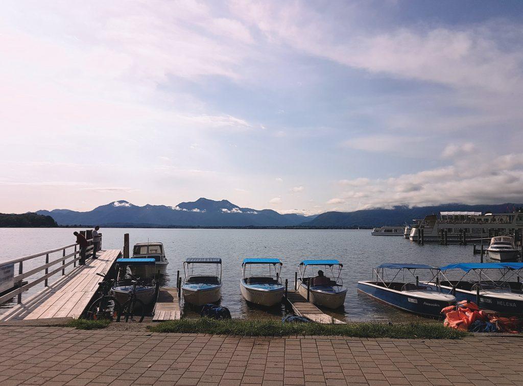 laghi della Baviera da visitare: il Chiemsee