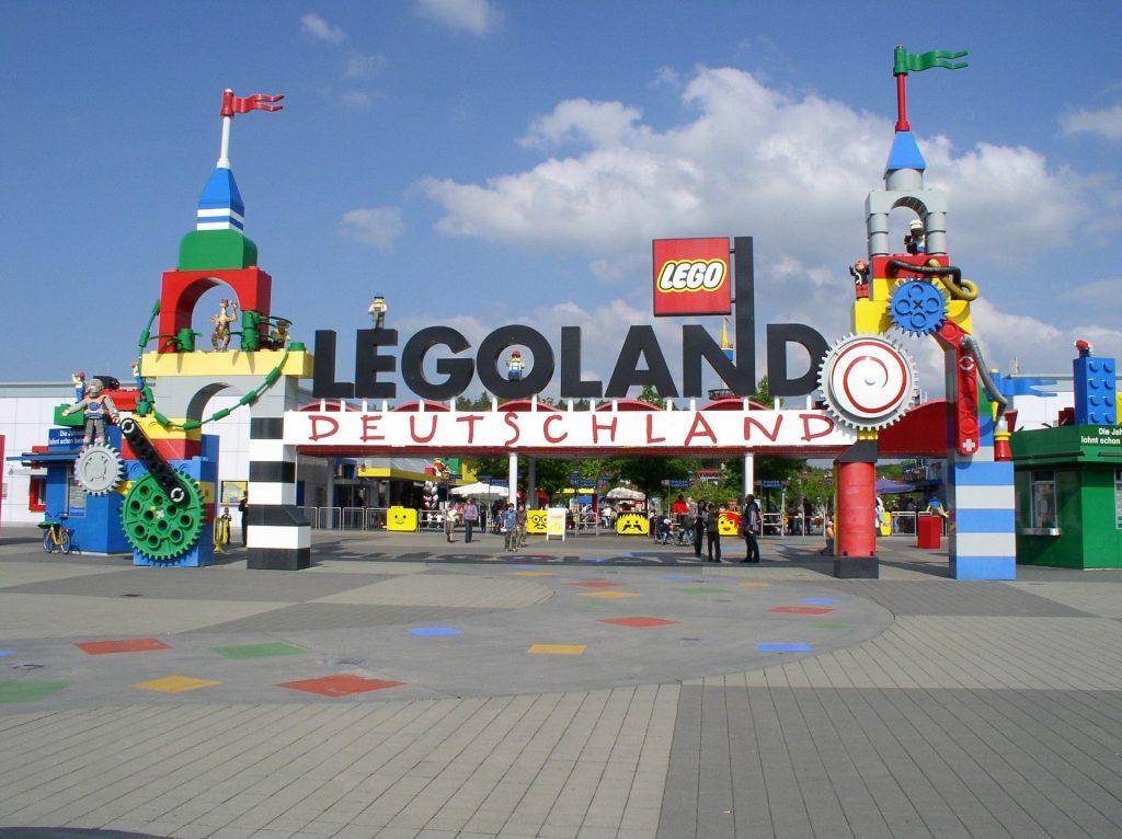Baviera con i bambini: ingresso di Legoland