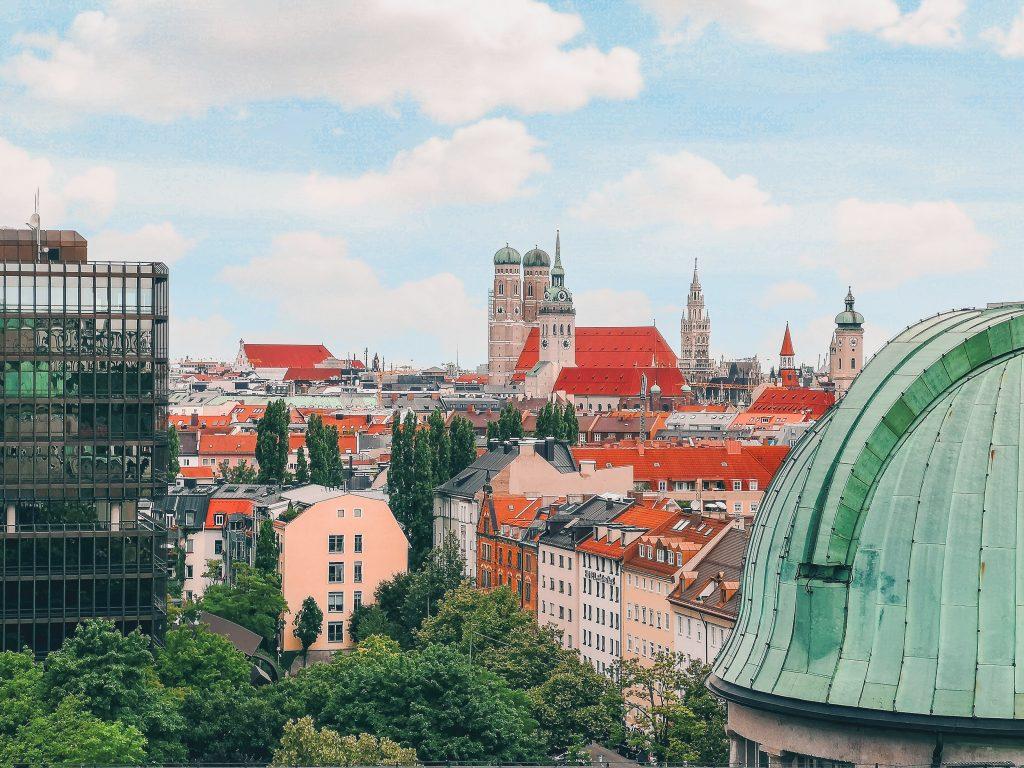 luoghi di Sissi in Baviera: Monaco di Baviera vista dal Deutsches Museum