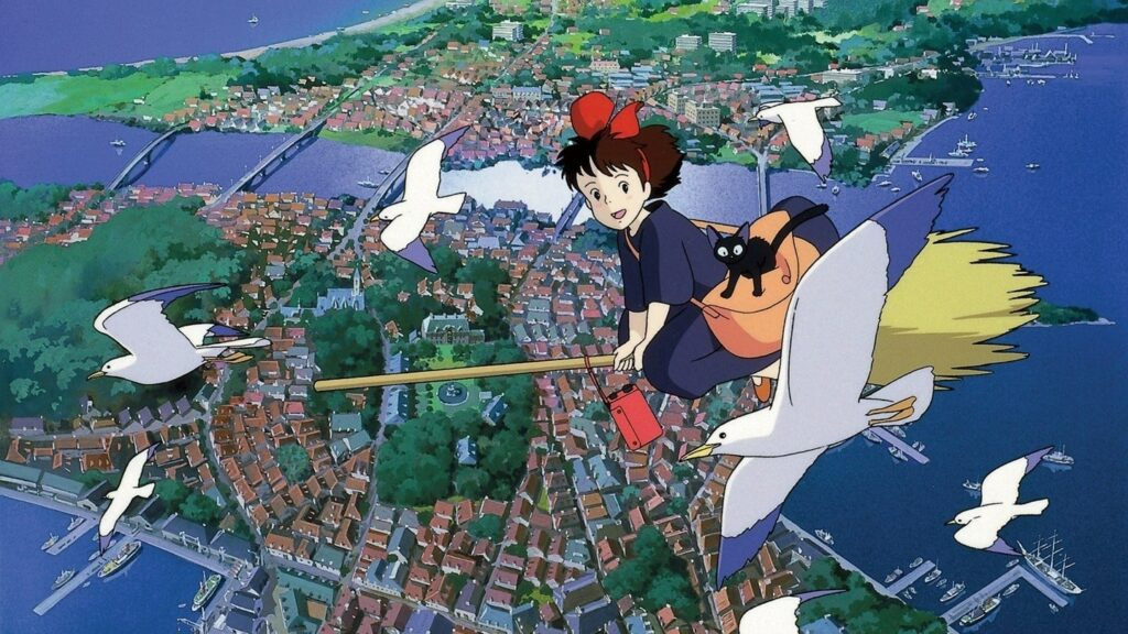 I luoghi dello studio Ghibli nella realtà