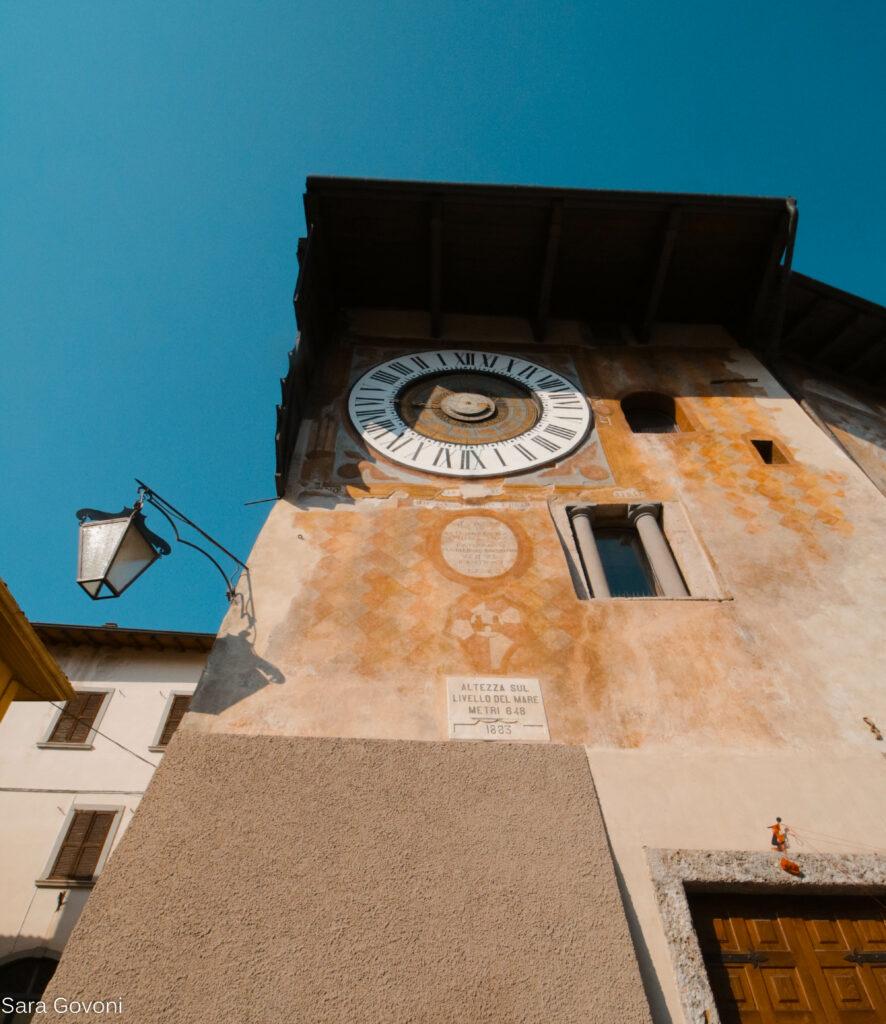 orologio astronomico di Clusone