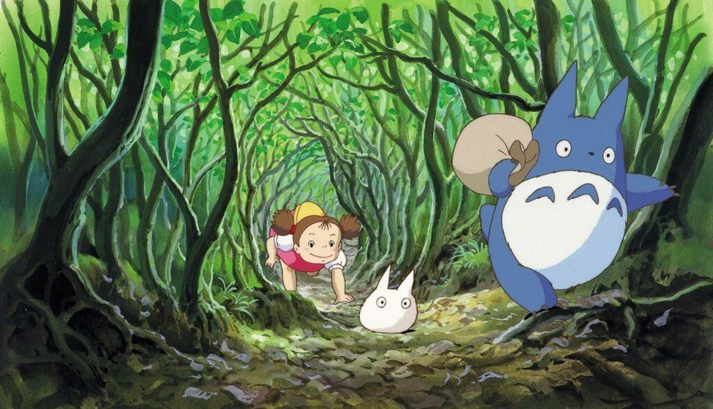 I luoghi dello studio Ghibli nella realtà: la foresta di Totoro