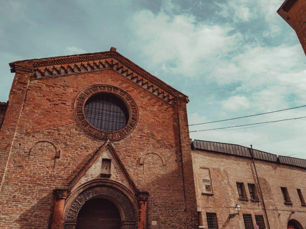 chiesa di San Giacolo a Ferrara itinerario ferrara insolita