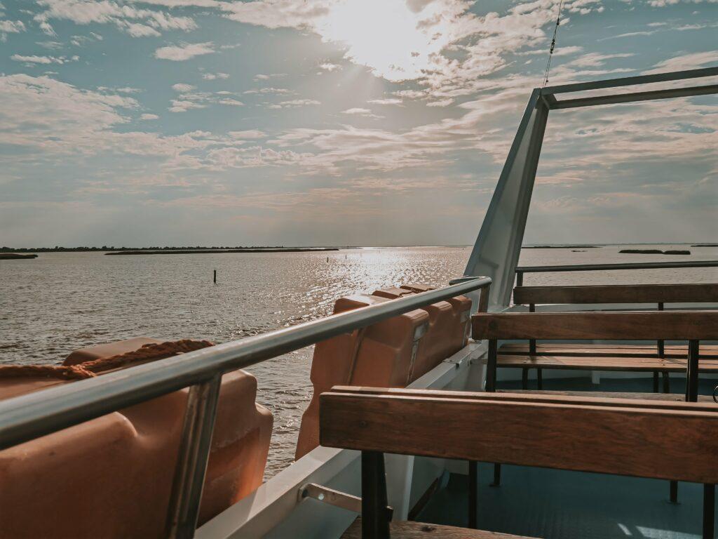 Delta del Po emiliano romagnolo in motonave