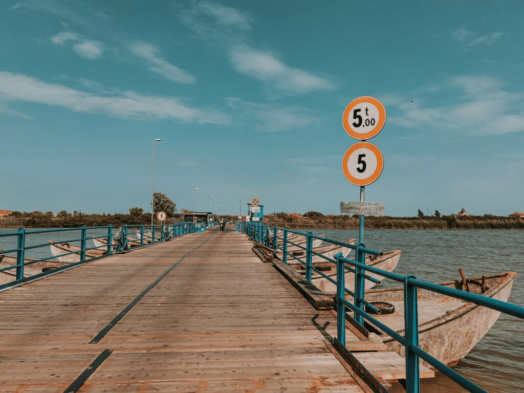 il ponte di barche Goro tra acqua e terra: cosa vedere a Goro, Gorino e dintorni