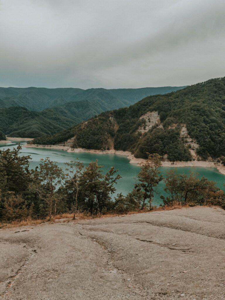 punto panoramico lungo il trekking