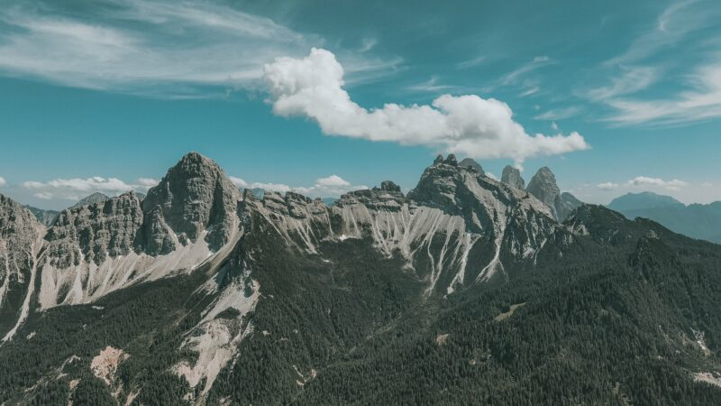 Trekking sul Monte Rite: fino al museo delle Nuvole!