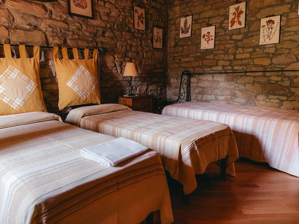 camera da letto di borgo basino
