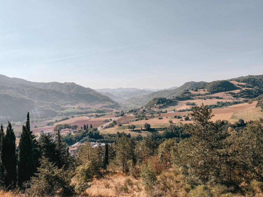 foliage in romagna all'eremo di sant'ellero a galeata